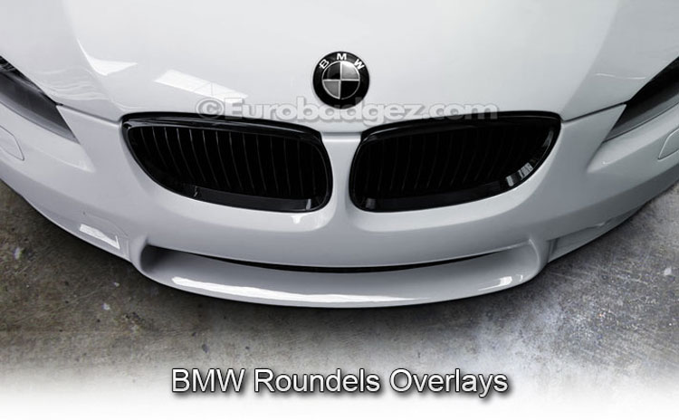 Eurobadgez oem volkswagen bmw audi badges decals and auto our bmw roundel kits fit perfectly over your exisiting emblems install in minutes and are the highest quality overlays available sciox Gallery
